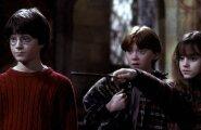 """""""Harry Potter ja tarkade kivi"""" (2001). Daniel Radcliffe, Rupert Grint ja Emma Watson imeeduka filmisaaga esimeses osas."""