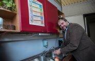 Martin Minjajev soovitab alati hoida puhtust ja pesta käsi, enne kui toiduga kokku puutud.