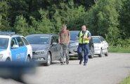 DELFI FOTOD: Jaanipidudelt naasjaid tervitas Tallinna lähistel puhumisreid