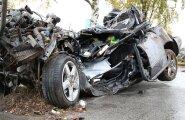 Экспертиза: погибшие в аварии подростки ехали со скоростью 140 км/ч