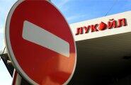 Lukoili tankla Moskvas.