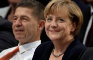 Angela Merkel ja abikaasa Joachim Sauer