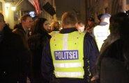 Politsei kontroll vanalinnas