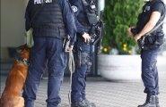 ФОТО: В Таллиннском аэропорту усилены меры безопасности из-за угрозы ДАИШ