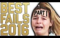 HITTVIDEO: Naera puruks! Need on 2016. aasta kõige hullutavamad ja naljakamad ebaõnnestumised