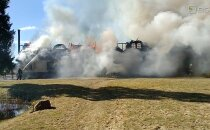 FOTOD | Aitame koos! Tuli hävitas Lootuse Küla peahoone koos kogu sisustusega