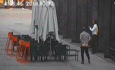 В Старой Риге задержан очередной турист без штанов