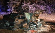 Liiklusõnnetuste kroonika: auto libises teelt välja vastu puud, bussi järsu pidurduse tagajärjel sai viga reisija, ülekäigurajal sõitis auto inimesele otsa