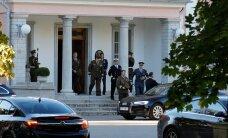 ФОТО DELFI: Ильвес принял в Кадриорге высших руководителей Сил обороны