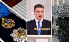 HOMMIKUBLOGI: Vabariigi President annab üle riiklikud teenetemärgid, Taavi Rõivas peab Tartus kõnet, tänagi on oodata lund ja lörtsi