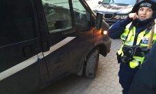 ФОТО: В центре Таллинна фургон сбил человека