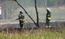 ФОТО читателя Delfi: В Кохтла-Ярве горела стихийная свалка