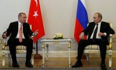 ВИДЕО: Эрдоган прилетел в Петербург к Путину
