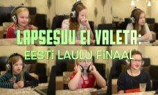 VIDEO: Laste pööraselt naljakad arvamused Eesti Laulu finalistide esituste kohta