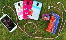TEE ISE: Lahedad DIY-projektid, millega saad oma mobiiltelefoni ja selle tarvikud omapärasemaks muuta