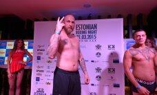 FOTOD: Poksiässad Helenius, Akavov jt astusid üles Estonian Boxing Night ametlikul kaalumisel