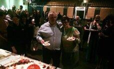 FOTOD: Vaata, millist korvpallikujulist torti pakuti Andres Sõbra 60. juubelil!