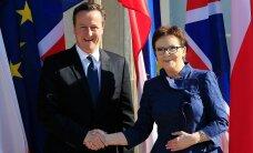 Cameron sai Varssavist selge sõnumi: Poola ei luba Suurbritannial oma kodanikke diskrimineerida