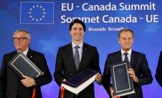 Евросоюз и Канада подписали соглашение о свободной торговле