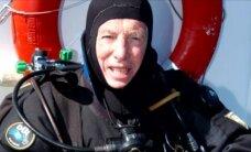 ESTONIA 20: Vrakile sukeldunud miljonär: Estoniale sukeldumiselt kaasa toodud metallitükkide proovid kinnitasid kokkupuudet plahvatusega