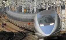 Rööbastel kihutav Shinkansen, mis tegi Jaapanist maailmamajanduse suurjõu