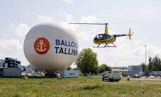 Жители Пыхья-Таллинна жалуются на туристические вертолеты
