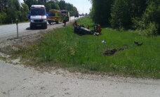 Kuues liiklusõnnetuses sai viga kümme inimest