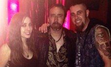 Nicolas Cage rokkis Eestist pärit muusiku Brad Jurjensi kontserdil!