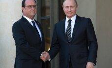 Олланд задумался об отмене встречи с Путиным в Париже