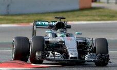 Rosberg ja Räikkönen olid Barcelona testisõidu kiiremad