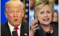 Опрос: Трамп с небольшим преимуществом опережает Клинтон