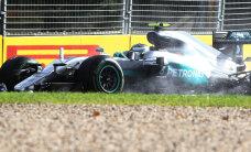 VIDEO: Nico Rosberg sõitis Austraalia GP vabatreeningul seina