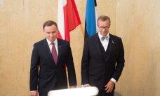Президент Ильвес примет в Эрма прибывшего с частным визитом президента Польши