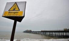 Suurbritannia lääneosa räsisid tormituuled