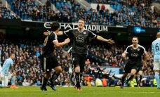 LEICESTERI IME JÄTKUB: Keskkaitsja kaks väravat tõid Ranieri meeskonnale ka Manchester City skalbi