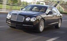 В Пирита за рулем Bentley задержан пьяный бизнесмен