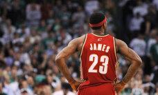 VIDEO: NBA play-off´id: LeBron James oli võidumängus lähedal kolmikduublile