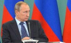 Vladimir Putin: peame dopingusüüdistusi avalikult uurima
