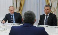 Путин предложил Володина на пост спикера Госдумы