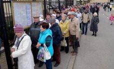 Выборы в Госдуму РФ: в Нарве на участке огромная очередь