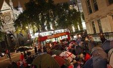 FOTOD ja VIDEO: Tuhanded inimesed ööbisid Londoni tänavatel