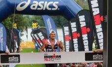 FOTOD: Otepää poolpika triatloni raske katsumuse lõpetasid õnnelikult ka Tanel Padar ja Kalev Kruus