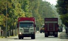 Transpordifirmasid rõhub juba raskeveokimaks
