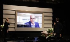 ФОТО DELFI: В Теледоме проводили в последний путь журналиста Аарне Раннамяэ