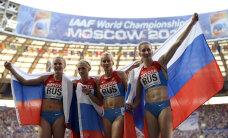 Ajaleht: Kaheksa Venemaa kergejõustiklast poleks tohtinud Londoni olümpial võistelda