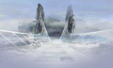 """Hiinasse rajatakse maailma pikim ja kõrgeim """"läbipaistev sild"""", mis sobib ka benjihüpeteks"""