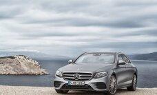E-klassi Mercedes. Taksojuhid soovitavad ja pankurid unistavad