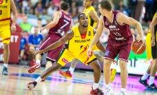 FOTOD JA VIDEOD: Läti kossumeeskond alustas EMi võiduga, Leedu lõi Ukrainat vaid punktiga