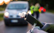 Tallinnas sai jalakäija autolt löögi, politsei tabas 25 alkoholijoobes juhti