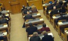 FOTO: Priit Toobali koht riigikogus on tühi